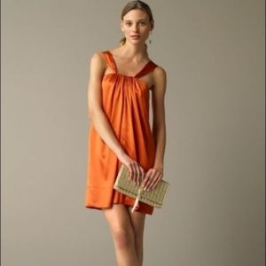 5/$25 Banana Republic Orange Silk Slip Dress